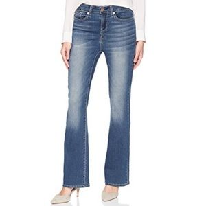 Signature by Levi Strauss  Bootcut Jeans 10 short
